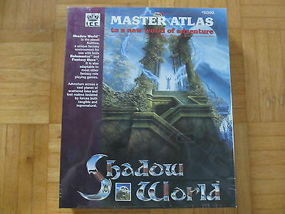 SHADOW WORLD – Master Atlas / neu OVP sealed / Rolemaster Fantasy Hero 3d rpg