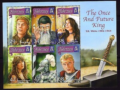 2006 Alderney. 'The Once and Future King'  MSA273  MNH
