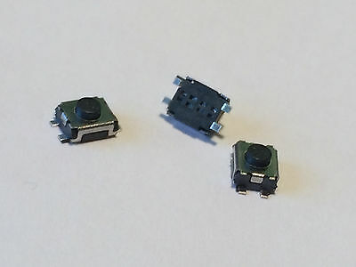 3pcs MICRO SWITCH 4 pin button for CITROEN PEUGEOT RENAULT key fob