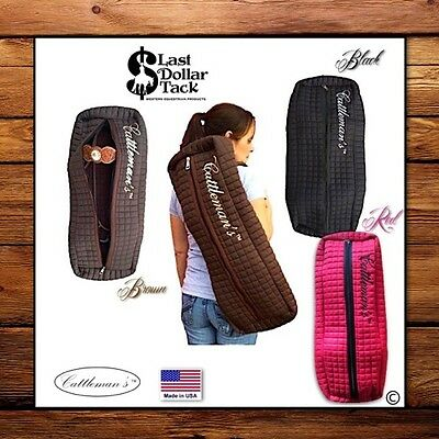 Bridle/headstall/halter Quilted Padded Carry Bag ~ Spacious Storage Up To 3 Sets