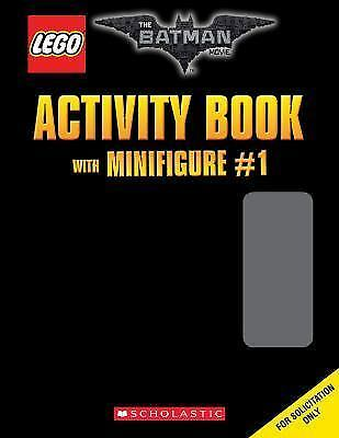 The LEGO Batman Movie: Activity Book with Minifigure (the LEGO Batman Movie)...