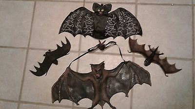 Halloween-Bats-Variety-Rubber-Plastic-Small-Medium