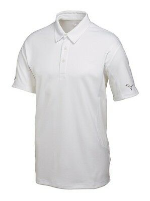 Puma Herren Golf Tech Polo Cresting 568243-02