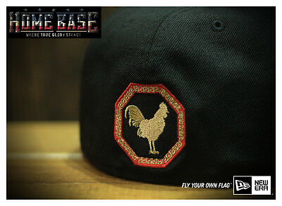 New Era 59FIFTY NY Yankees CNY Year of Rooster Limited Edition Gold