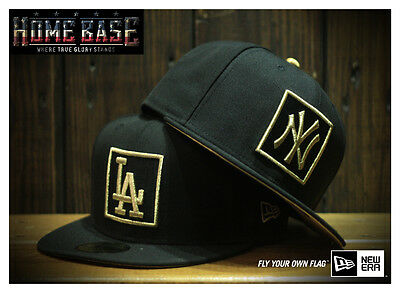 New Era 59FIFTY LA Dodgers CNY Year of Rooster Limited Edition Gold