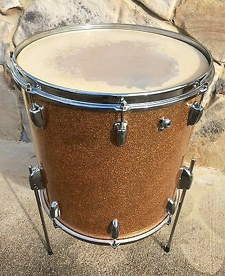 "Slingerland Vintage 16"" Floor Tom MINT Gretsch Leady Ludwig"