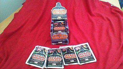Star Wars - Merlin Collector's - Original Trilogy Movie Cards, 47 Sealed Packets