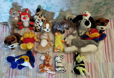 Lot de 18 Peluches