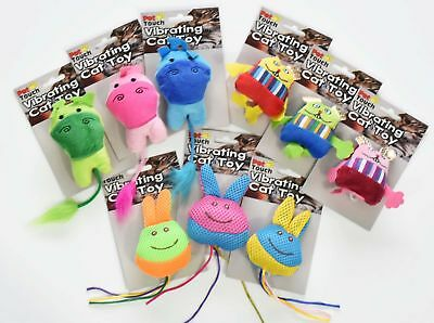 Vibrating Cat/Kitten/Pet Toys 9 Designs great Pet fun !