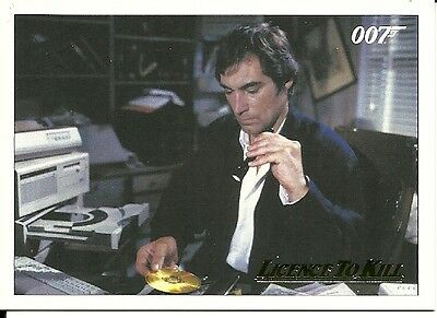 James Bond Classics  Licence To Kill Gold Parallel card   #24 - 124/150