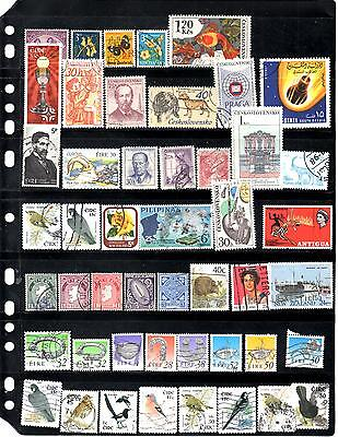 Worldwide Used Stamp Collection (Series 0352)