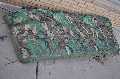Wet Weather Poncho Liner Woodland Genuine US Army NEW