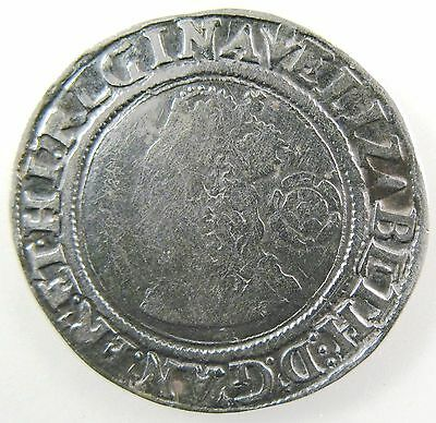 GREAT BRITAIN. 1562 AR Sixpence, Elizabeth I, 3rd issue. Spink#: 2561, Very Fine
