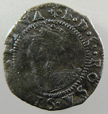 GREAT BRITAIN. 1560-1561, Elizabeth I Penny, 2nd issue. S-2558, Fine