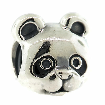 Authentic PANDORA Peaceful Panda Charm in 925 Sterling Silver, 791745EN16