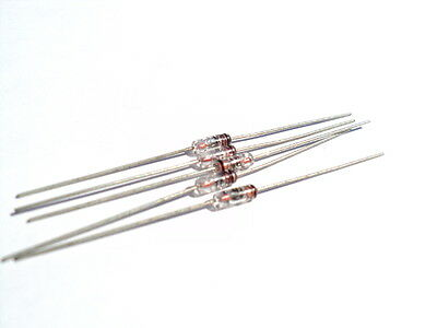 1N251 Fairchild Axial Diode Very Rare - You Get 5 New Pieces