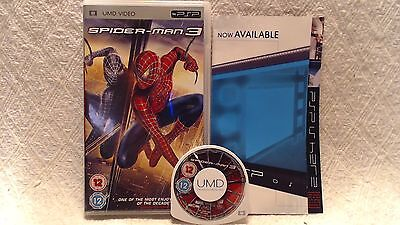 Spider-Man 3 (UMD, 2010) UK Version, Complete, Free 1st Class Post!