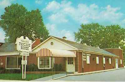 Vintage Postcard-The Clock Restaurant Pancake & Steak House, Bowling Green, Ohio