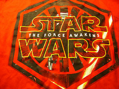 T-Shirt STAR WARS THE FORCE AWAKENS LARGE 100% COTTON LUCASFILM