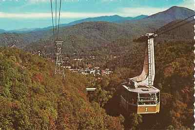 1974 Unused Postcard - Gatlinburg Aerial Tramway To Mt. Harrison Ski Resort