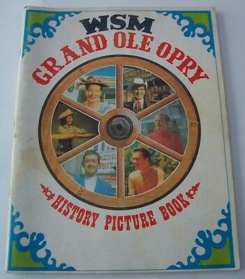 1969 Wsm Grand Ole Opry History Picture Book