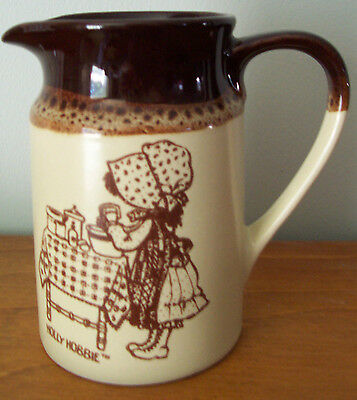 1979 Holly Hobbie Hearth & Home Collection Little Brown Creamer Jug