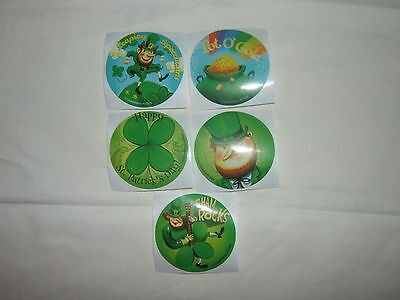 5- St.Patrick's Day Stickers Party Favors