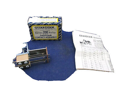 Guardian  200-2-8 AMPS Contact Assembly  new