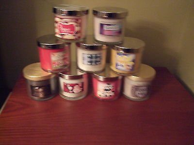 Bath & Body Works Any 2 4Oz Candles - Choose Your Own Scent