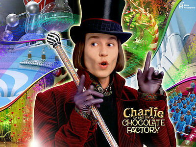 Charlie and the Chocolate Factory is a 2005, original props