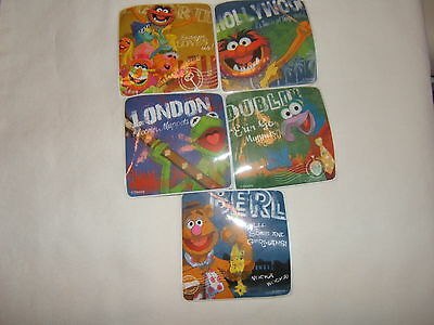 5 Muppets Most Wanted  Stickers Party Favors