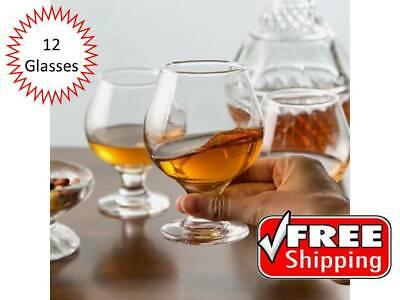(12-Pack) 9 oz. Clear Restaurant Bar Brandy Snifter Glasses