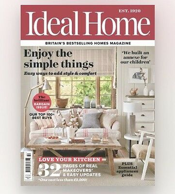 Ideal Home Magazine February 2017 (BRAND NEW COPY)