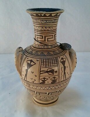 Greek Vase Handmade Museum Copy 8th Century BC Ancient  Greece (BN3)