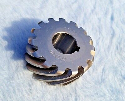 Boston Gear H615R Plain Helical Gear, 45 Deg Helix 14.5 Deg Pressure Angle