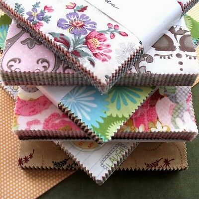 """CLEARANCE MODA Charm Pack Each Pack Contain 42 x 5"""" Fabric Squares"""