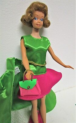 Midge with Teeth!  Ultra Rare!  Pretty, Clean!  Vintage Barbie + Mattel Fashions