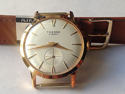"Watch Vintage  Tressa Anni 60 Carica Manuale Swiss Made ""new Old Stock"""