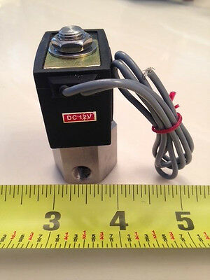 "1/8""  12V DC Stanless-Electric Air Gas Water Solenoid Valve Normally Closed"