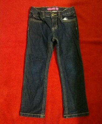 Girl Carter's Jeans ,blue Size 5 Skinny Fit Very Good Condition