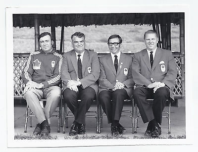 Canadian Olympics officials - for Montreal Olympics 1976 ?