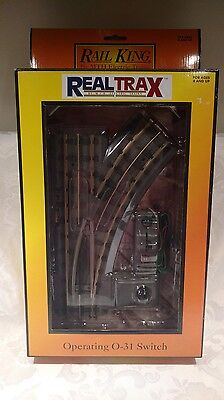 Rail King by MTH Electric Trains - Operating O-31 Switch Right Model 40-1004