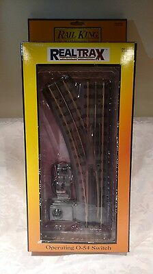 Rail King by MTH Electric Trains - Operating O-54 Switch Left Model 40-1056
