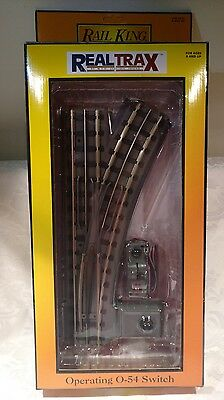 Rail King by MTH Electric Trains - Operating O-54 Switch Right Model 40-1055