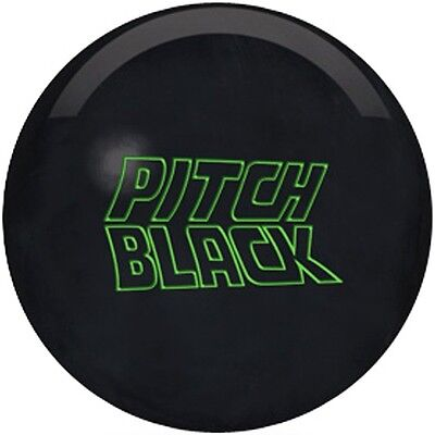 Storm Pitch Black Urethane Bowling Ball Perfect for dry und short Oilings
