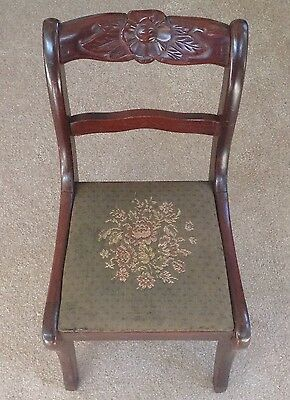 Antique Victorian Childs Chair