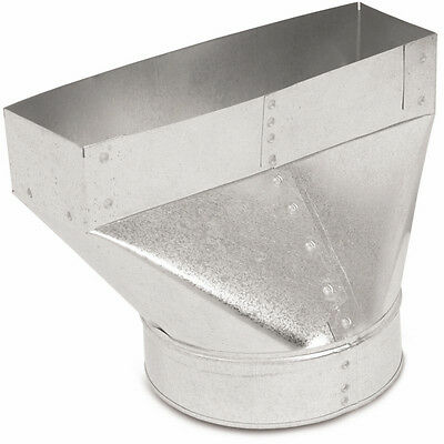"""4"""" x 10"""" x 6"""" Galvanized Steel Metal Straight Duct Boot Register Vent Heating AC"""