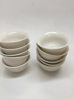Chinese Gong Fu Tea Cups Pure White 10 Pcs On Sale