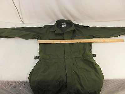 Vintage US Army Type I Men's Cotton Sateen Coveralls Large Gibraltar P.R. 33028