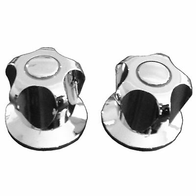 Shaw & Mason WALL TOP ASSEMBLY 1Pair Watermark Approved, CHROME PLATED Brass